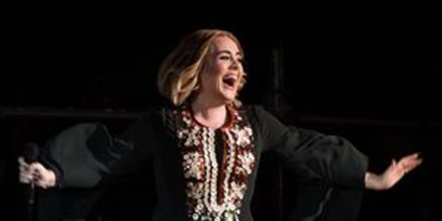 Adele obviously won Glastonbury.