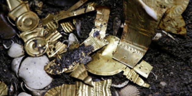 Lobo de oro resurge en Templo Mayor