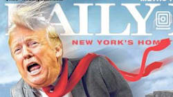 Donald Trump Drives Off A Cliff In Biting New York Daily News