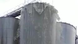 Impressionnante cette explosion de 30 000 litres de