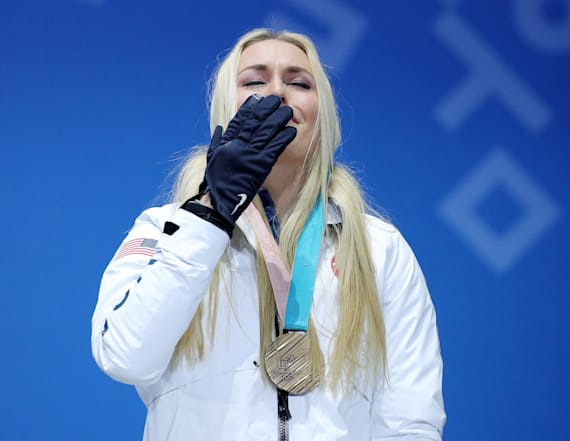 Lindsey Vonn trolled on Twitter after winning bronze
