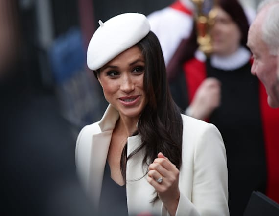 Meghan Markle channels Princess Diana