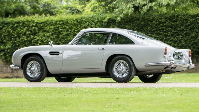 NYC Spy Museum Buys James Bond GoldenEye Aston Martin DB Autoblog - Aston martin db5 price