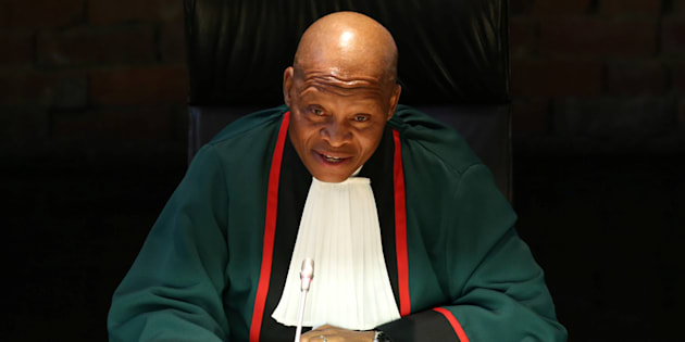 Constitutional Court Chief Justice Mogoeng Mogoeng.