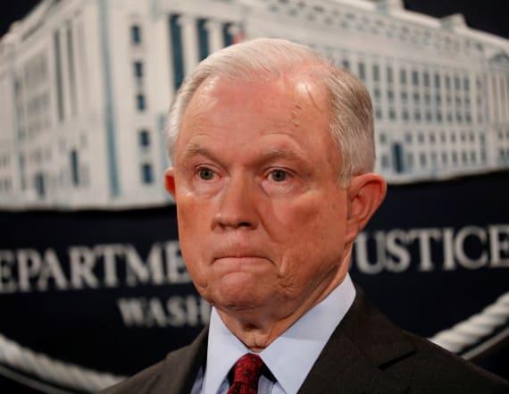 Trump slams 'beleaguered' AG Jeff Sessions