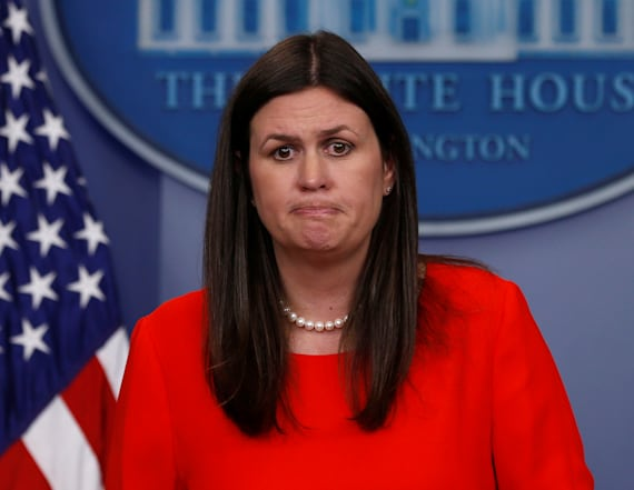 WATCH: Sarah Sanders holds WH press briefing