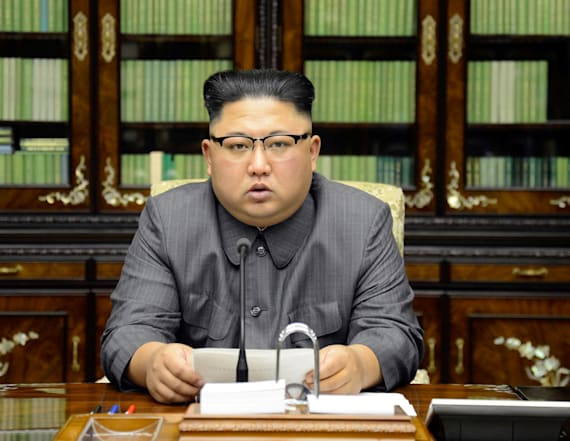 Kim Jong Un calls Trump a 'frightened dog'