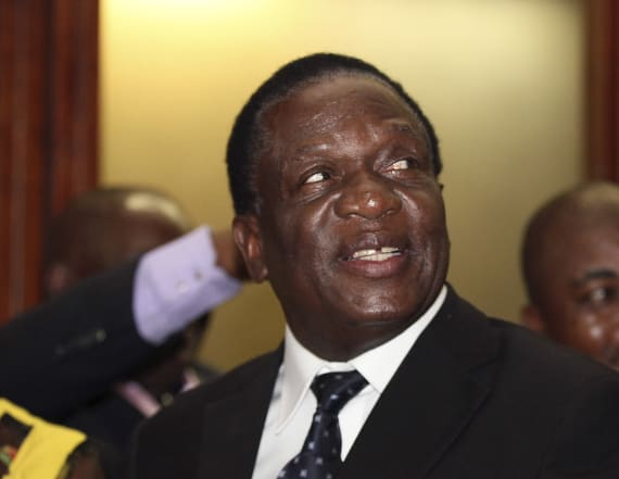 Zimbabwe's Mnangagwa to be sworn in as president