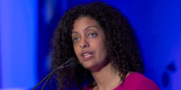 La ministre de l'Économie Dominique Anglade