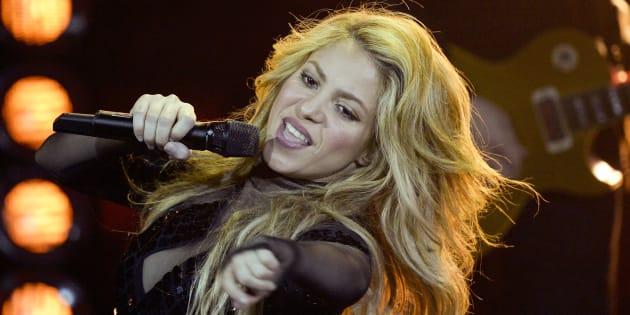 Shakira aux Echo Music Awards à Berlinle 27 mars 2014.