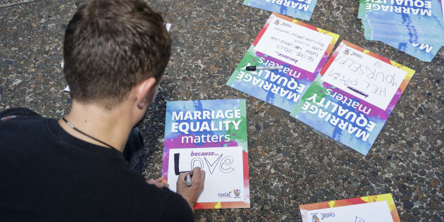 """""""To succeed in the enormous task that lies ahead, we will need supporters campaigning hard across Australia to make sure people vote and understand just why this issue matters so deeply to LGBTQ Australians and to their friends and families."""""""