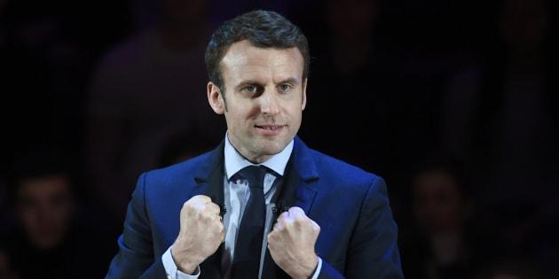 A 74 ans, j'ai enfin trouvé en Emmanuel Macron le candidat qui me donne envie de m'engager. REUTERS/Toby Melville