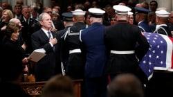 EN FOTOS: El funeral del presidente George H.W.