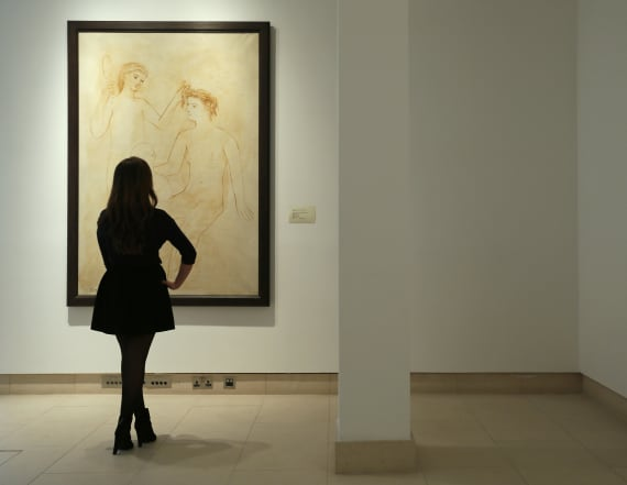 X-ray of Picasso piece reveals hidden painting