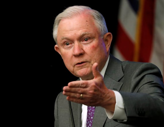 Jeff Sessions sparks uproar with Nazi Germany remark