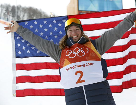 USA takes gold in men's freestyle halfpipe skiing