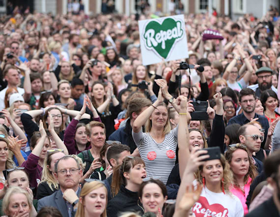 Ireland ends abortion ban with landslide vote