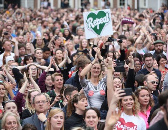 Ireland ends abortion ban with landslide vote