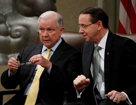 Sessions may resign if Rosenstein is fired: report