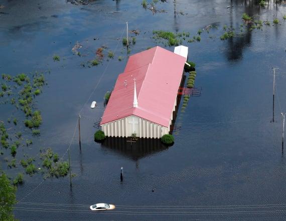 Florence's devastating blow to the Carolinas