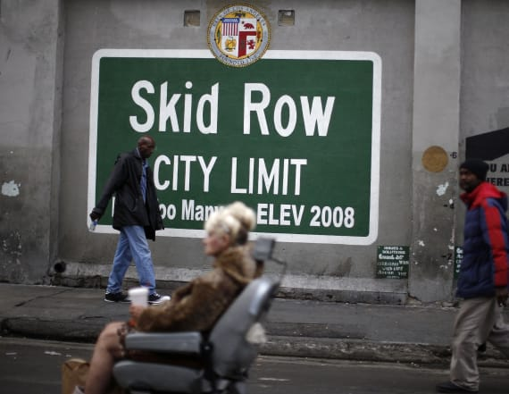 Skid Row vote fraudsters preyed on homeless
