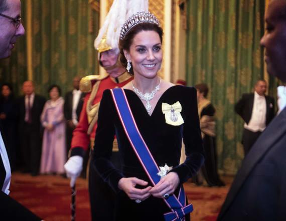 Kate Middleton dazzles in Princess Diana's tiara