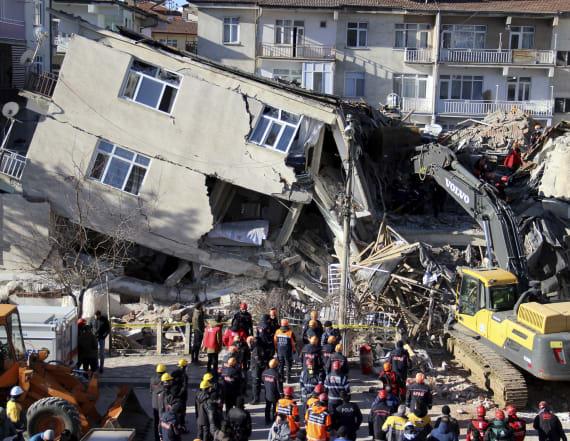 22 dead, hundreds injured after massive earthquake