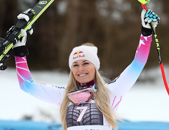Vonn attacked on Twitter after failing to medal