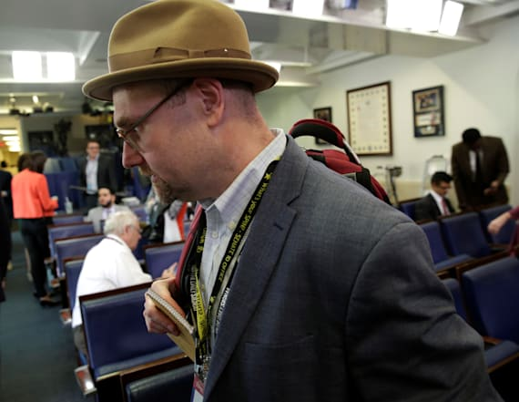 New York Times suspends top White House reporter