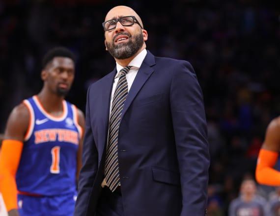 Knicks fire coach David Fizdale after 4-18 start