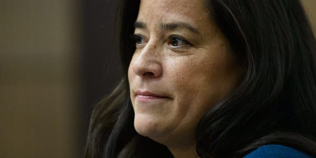 Jody Wilson-Raybould appears before the Justice Committee on Parliament Hill in Ottawa on Feb. 27, 2019.