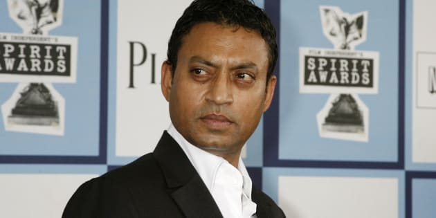 "Best Supporting Male nominee Irrfan Khan of ""The Namesake"" arrives at the 2008 Film Independent's Spirit Awards in Santa Monica, California, February 23, 2008.     REUTERS/Fred Prouser (UNITED STATES)"