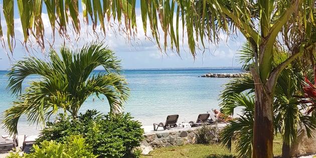 Le paysage paradisiaque de Saint-Martin
