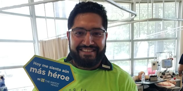 Ramón salvó la vida de un paciente que necesitaba un trasplante gracias a su generosa donación de células madre