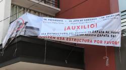 Los otros afectados del edificio Zapata 56 que se derrumbó en el