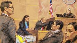 Regalo de Navidad: Hijas del Chapo acuden a audiencia y así reaccionó el