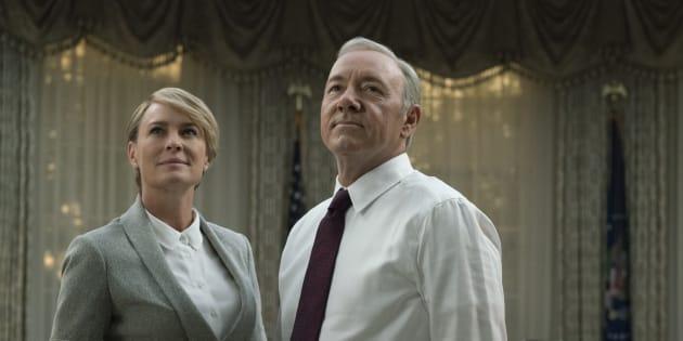 """La saison 5 de """"House of Cards"""" prouve que Trump n'arrive pas à la cheville des Underwood"""