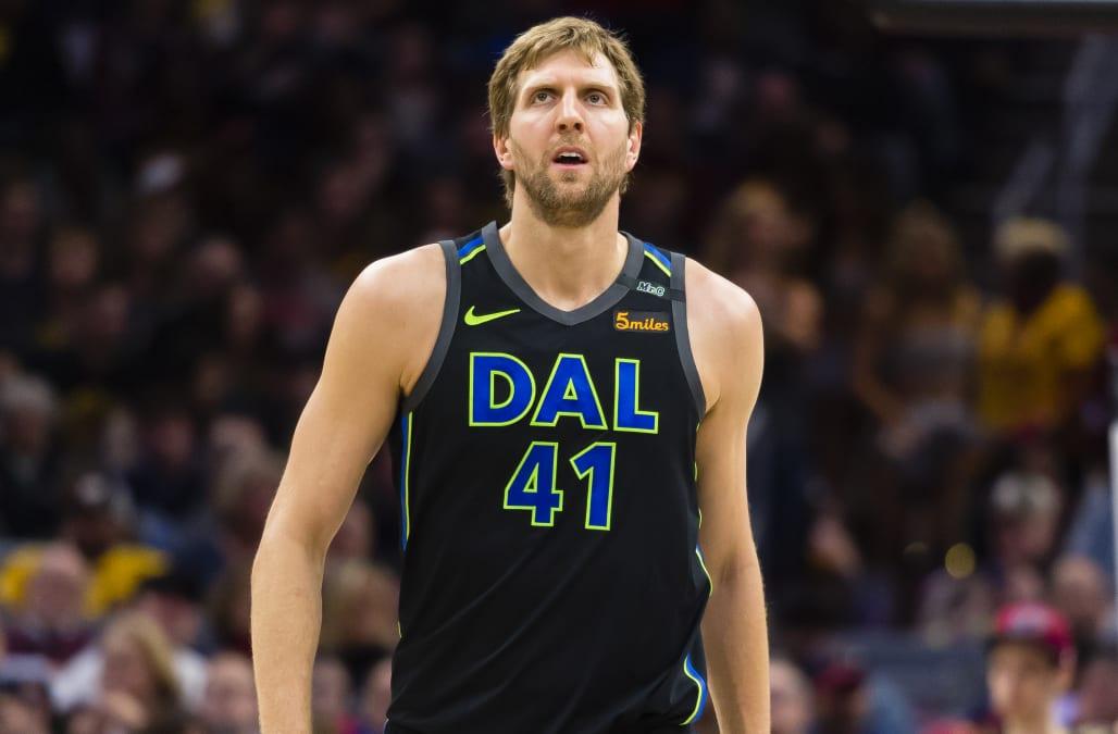 338748697cbda8 Dirk Nowitzki announces he will return for 21st NBA season in Dallas ...
