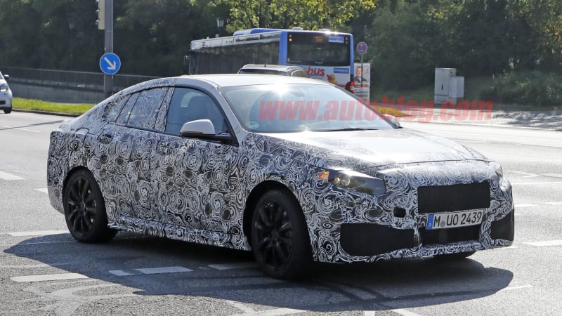 Spy shots provide first look at BMW 2 Series Gran Coupe