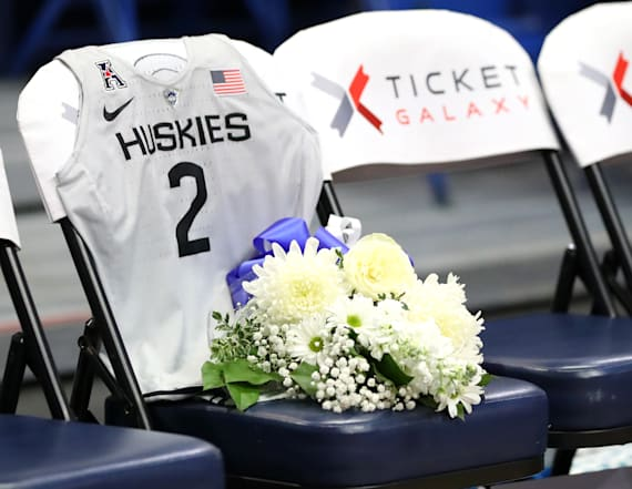 UConn pays tribute to Gianna Bryant