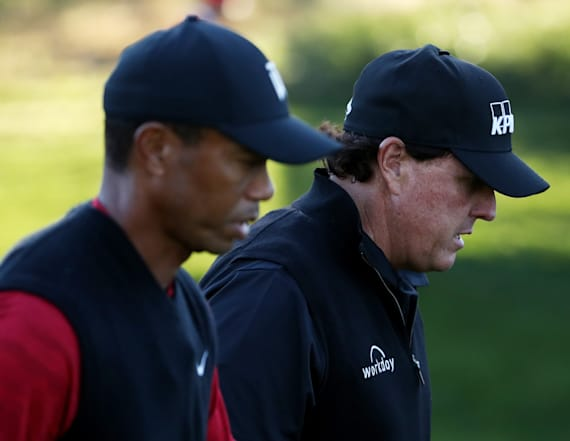 Woods, Mickelson set dubious mark at British Open