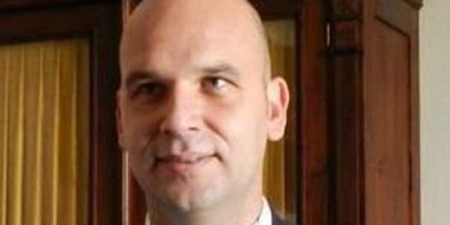 Un'immagine del sindaco di Licata, Angelo Cambiano, 10 maggio 2016.  Angelo Cambiano, il sindaco anti-abusivi di Licata (Ag) ANSA