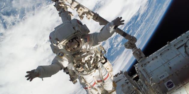 Dans l'espace, les astronautes sont plus exposés aux virus