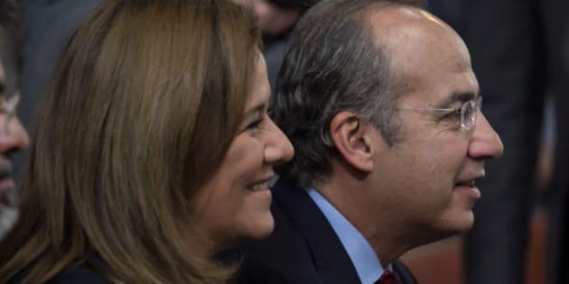 Margarita Zavala defendió, durante el primer debate presidencial, la gestión de su esposo, el expresidente Felipe Calderón.