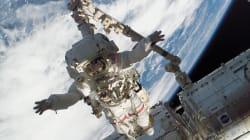 Dans l'espace, les astronautes sont plus exposés aux