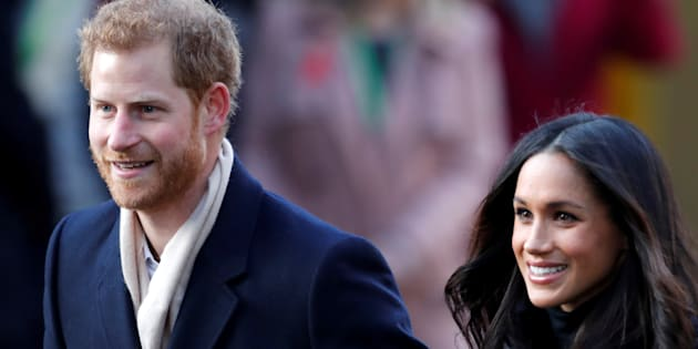 Britain's Prince Harry and his fiancee Meghan Markle arrive at an event in Nottingham, December 1, 2017. REUTERS/Eddie Keogh     TPX IMAGES OF THE DAY
