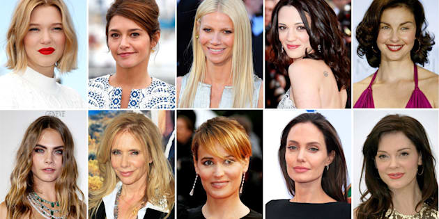 epa06260297 (FILE) - A combo file picture shows (top L-R), French actress Lea Seydoux, French actress Emma de Caunes, US actress Gwyneth Paltrow, Itailan actress Asia Argento, US actress Ashley Judd (bottom L-R) British model Cara Delevingne, US actress Rosanna Arquette, French actress Judith Godreche and US actress Angelina Jolie, US actress Rose McGowan. These actresses have made accusations in media against US film producer Harvey Weinstein of assault. According to media reports on 09 October 2017, Harvey Weinstein was fired from The Weinstein Company after additional information surfaced concerning his conduct amid accusations of decades of sexual harassment.  EPA/N. PROMMER / G. HORCAJUELO / S. NOGIER / A. GOMBERT / PETER FOLE