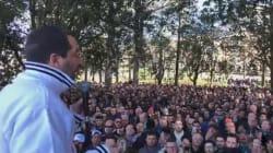 Salvini star coi Pittella