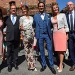 François Hollande et Ségolène Royal au mariage de leur fils Thomas en