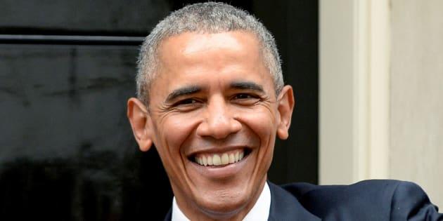 Si de algo se puede jactar Barack Obama es de que no tiene dos pies izquierdos para el baile.